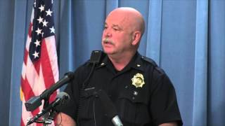 PRESS CONFERENCE: Update on Bannock St. officer-involved shooting
