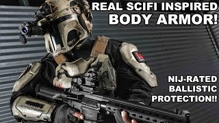 Real SciFi Body Armor! NIJ Rated Ballistic Protection