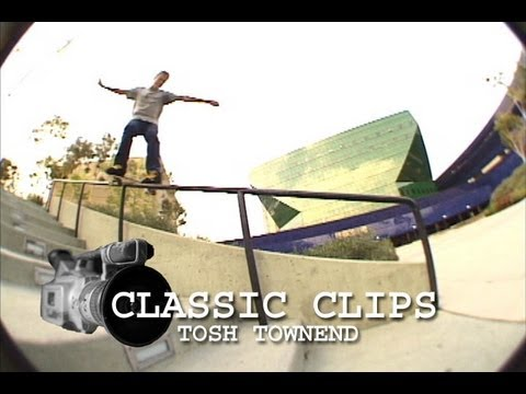 Skateboarding Classic Clips #3 - Tosh Townend