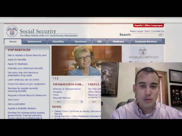 Social Security Statement Online