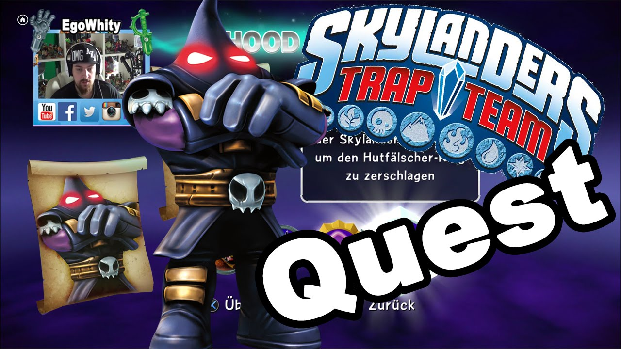 Skylanders Trap Team - Hood Sickle - Quest & Gameplay [HD ...