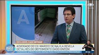 Advogado do ex de Najila acredita que Neymar será absolvido