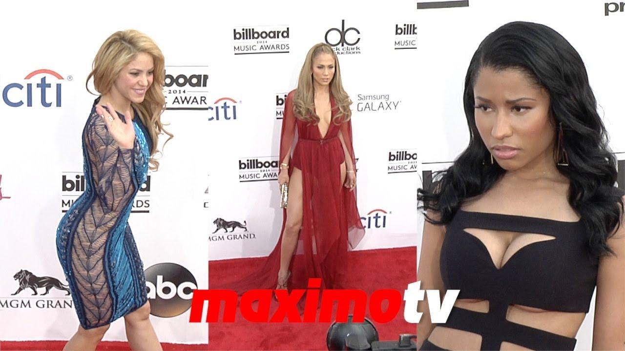 Shakira Nicki Minaj Jennifer Lopez Kesha