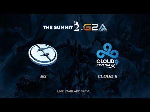 EG -vs- Cloud9, The Summit LAN Finals, Day 1