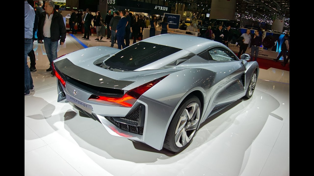 ARCFOX-GT 1005 hp, ARCFOX-GT Track edition 1609 hp & ECF Concept car at Geneva Motor Show 2019
