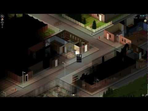 Project Zomboid Gameplay de Apresentação