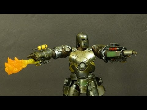 Revoltech Iron Man Mark I - review