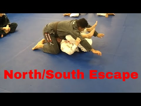 North/South Escape - Emerson Souza - Long Island Brazilian Jiu Jitsu and MMA Image 1