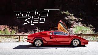 1988 Lamborghini Countach 25th Anniversary: The Rocket Sled