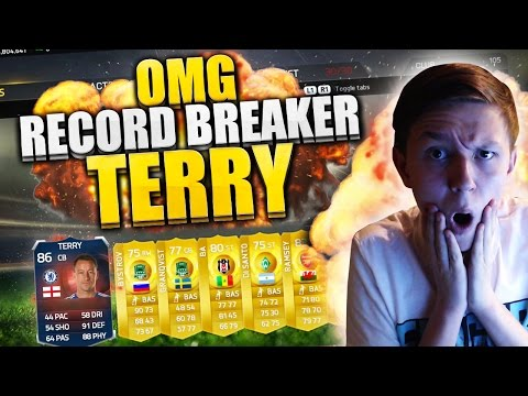 OMG!! RECORD BREAKER JOHN TERRY!!! FIFA 15 PACK OPENING