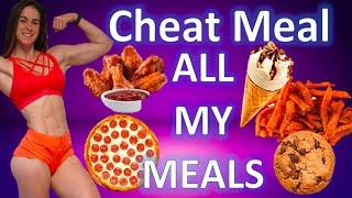Cheat meal while shredding. Full day of eating cutting for a bikini competition. Bikini Prep 2020