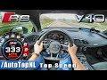 AUDI R8 V10 PLUS   AUTOBAHN POV 333KM/H   ACCELERATION & TOP SPEED by AutoTopNL