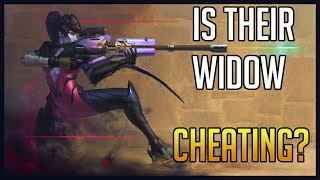 IS THEIR WIDOW CHEATING?