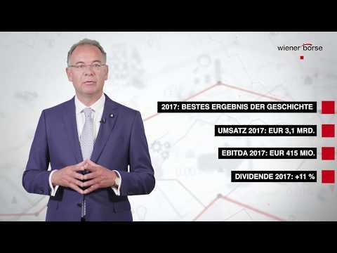 Wienerberger AG CEO Heimo Scheuch beim Austrian Stock Talk der Wiener Börse