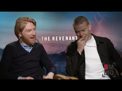 Domhnall Gleeson & Will Poulter Interview - The Revenant