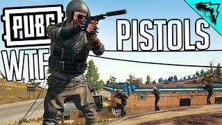 PUBG WTF PISTOLS - PlayerUnknown's Battlegrounds LIVESTREAM