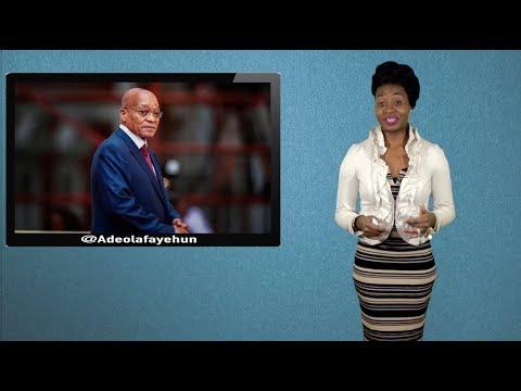 Zuma Forced To Resign; Buhari Wants N4.9B For Aso Rock Electricity; Door Falls Off Plane; Bushiri...