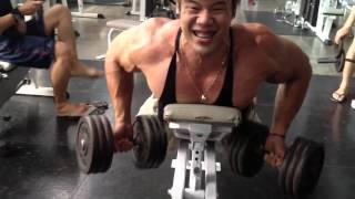 Ask FREX : Dumbbell Bench Row.