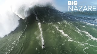 BIGGEST swell of the 2018 season  - NAZARE