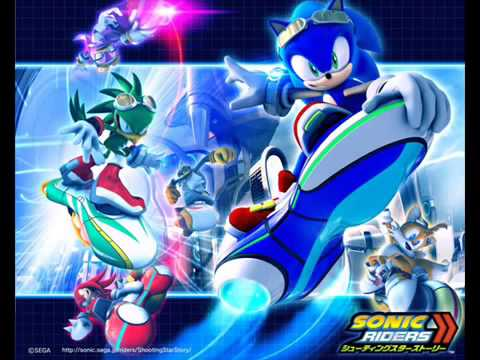 Sonic Speed Racers Electro Express Mix Theme - Sonic Riders
