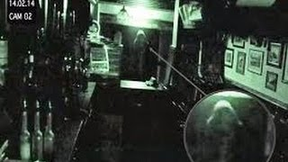 CCTV Ghost is Caught on Tape  in a Pub in Bolton Ghost Caught On Camera At Ye Olde Man and Scythe