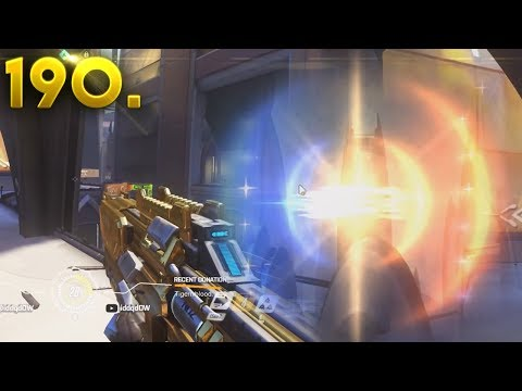 Very Weird Glitch or DDOS..???    OVERWATCH Daily Moments Ep. 190 (Funny and Random Moments)