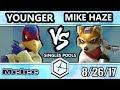 Shine 2017 SSBM Younger Falco Vs Bc Mike Haze Fox Smash Melee Pools mp3