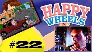 Happy Wheels #22 Nienawidzę kolejek!!! (Roj-Playing Games!)