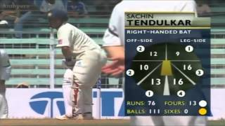 mcgrath vs sachin - bunny alert - all dismissals in tests - a great battle- hd