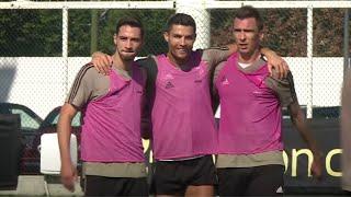 Juventus Freestyle Shooting Practice!
