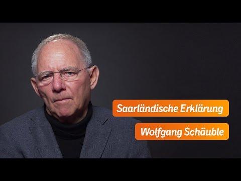 Schäuble: Deutschland - wirtschaftlich stark und mit soliden Finanzen