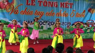 Các bé múa bài bống bống bang bang