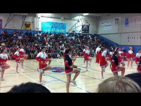 Farewell Rally Mira Loma High School Cheerleaders [6/1/12]