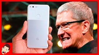 Google Pixel – убийца iPhone 7? Зачем Google создала iPhone на Android?