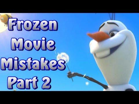 Disney Frozen Movie Mistakes Part 2