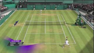 Grand Slam Tennis 2 - Superstar Difficulty | Full Match | Wimbledon