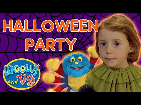 Woolly and Tig - Halloween Party! | Fancy Dress
