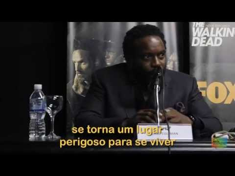 Entrevista com Chad Coleman e Gale Anne Hurd de The Walking Dead