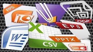 كيف تقرأ أي ملف  (docx,pptx,pdf,eps,wps,xlsx,csv...)  بحاسوبك و إن لم تثبت او تملك بعد برنامجه