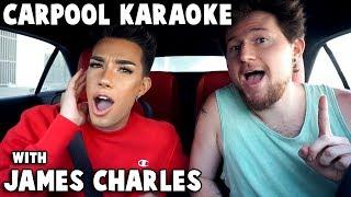 Download Lagu CARPOOL KARAOKE w/ JAMES CHARLES Gratis STAFABAND