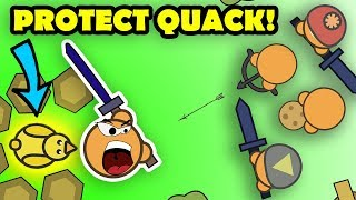 PROTECTING PET DUCK FROM THE ENTIRE SERVER?! Moomoo.io Cinematic Story! (Quack)