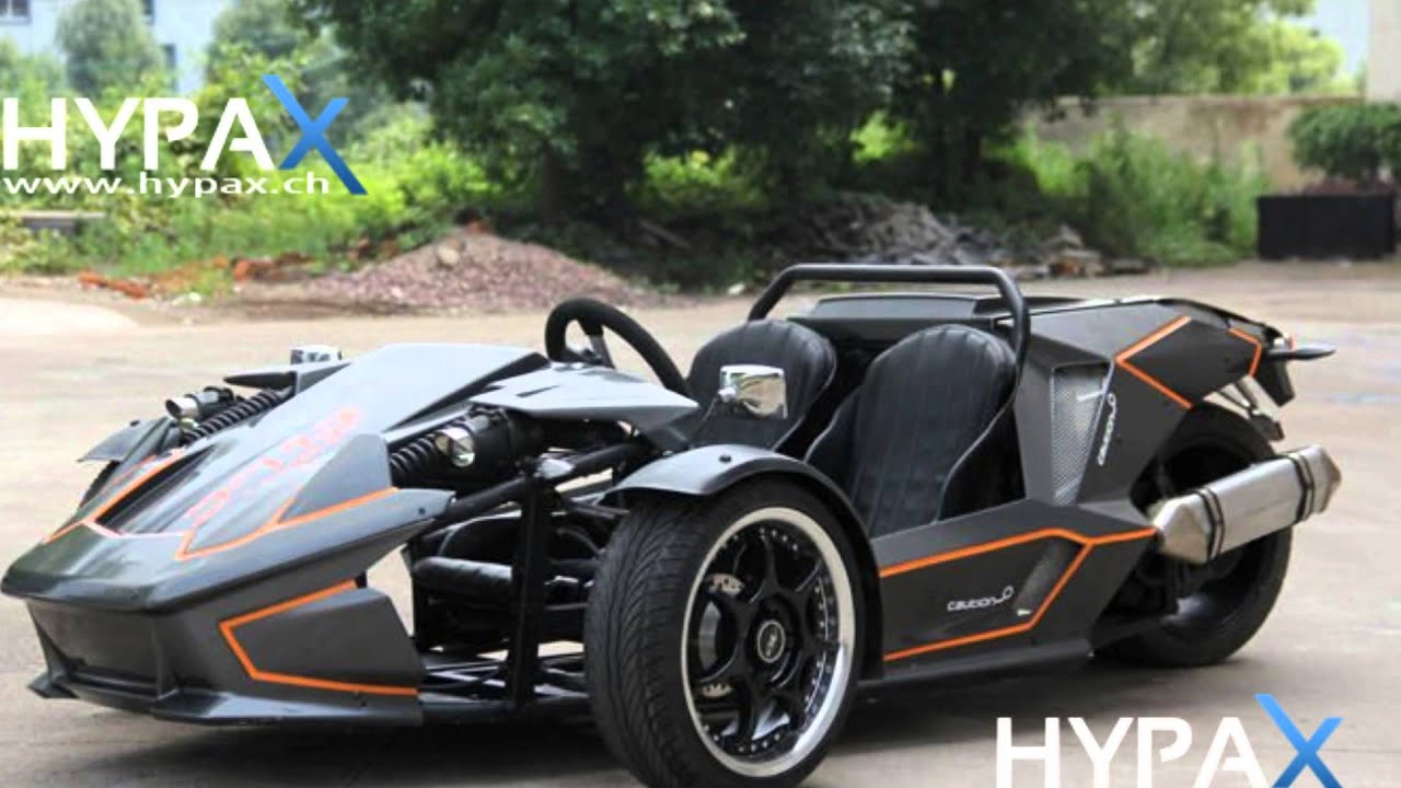 Mc350 Trike Racing Atv 250cc Hypax Ch Youtube