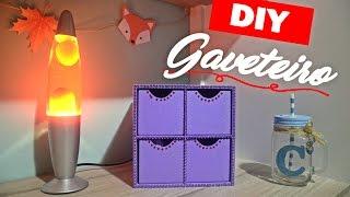 DIY - Gaveteiro/Organizador de MDF