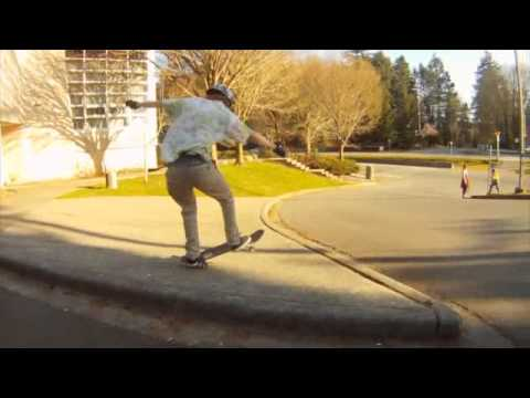 Sooke Skatepark and One Six Best Trick