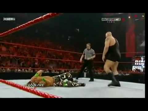 DX & Hornswoggle vs Big Show, Miz & John Heder - WWE Raw 18/01/10  - Part 1/2  HQ