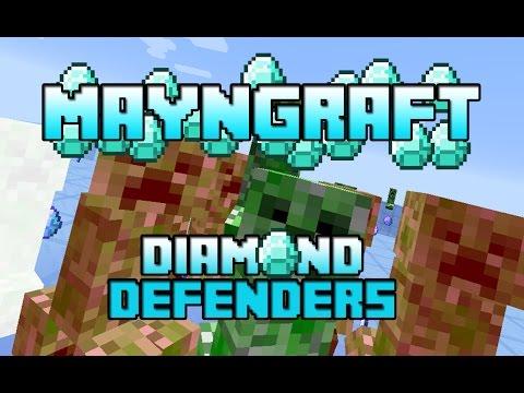 Minecraft Minigame : Elmas Gardiyanlari [ Türkçe ]