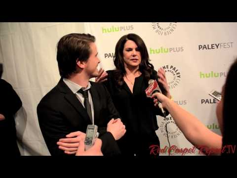 Lauren Graham Peter Krause At Paleyfest For Evening With Nbc