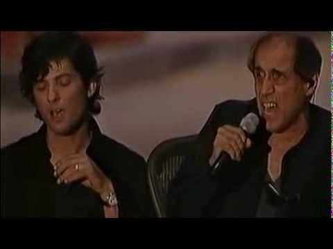 Adriano Celentano & Fiorello - L'emozione non ha voce (LIVE 2001)