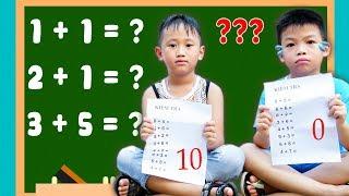Trò Chơi Lớp Học Nhí Nhố - Gian Lận Trong Giờ Kiểm Tra - Bé Nhím TV - Đồ Chơi Trẻ Em Thiếu Nhi