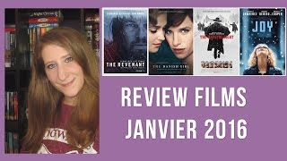 ☆ Review films Janvier 2016 : Joy , The Revenant, The Danish Girl, The Hateful Eigth  ☆
